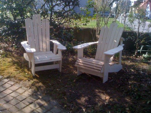 chaises adirondack avril 2012 blog de passion bois. Black Bedroom Furniture Sets. Home Design Ideas