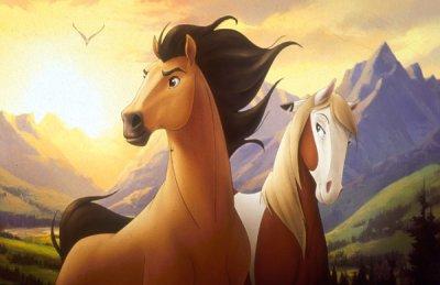 Spirit le plus beau dessin anim de chevaux blog de - Dessin anime des chevaux ...